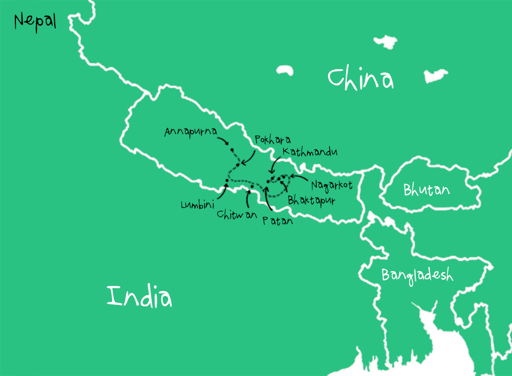 Route Nepal