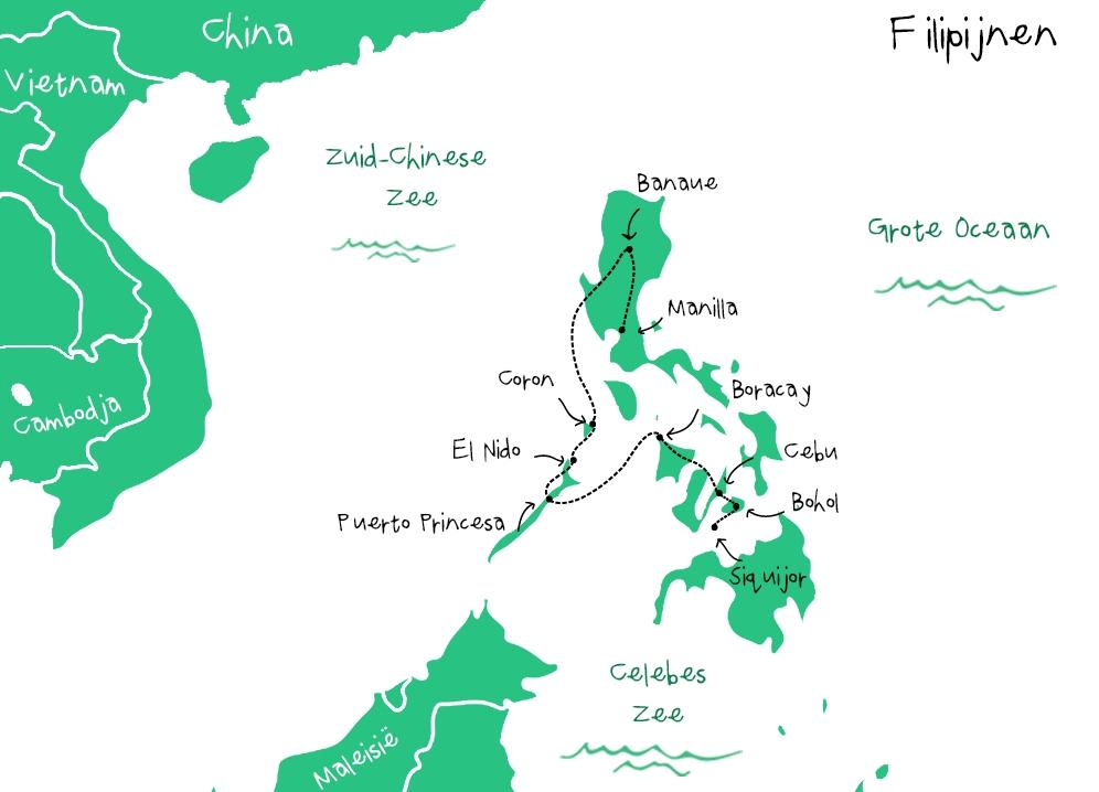 Route_Filipijnen