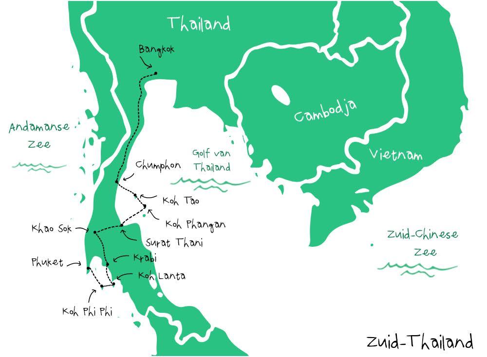 route-thailand