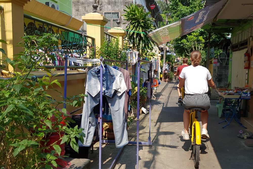 Fietsen Thailand