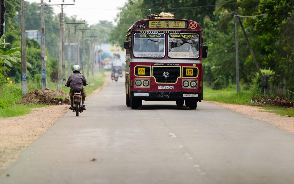 Sri Lanka Vervoer 1