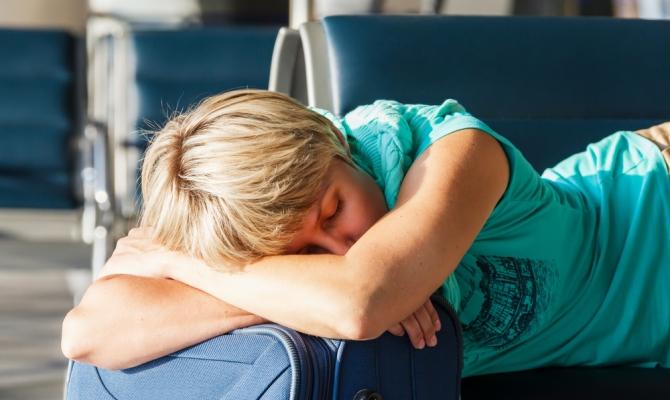 Slapen Vliegveld
