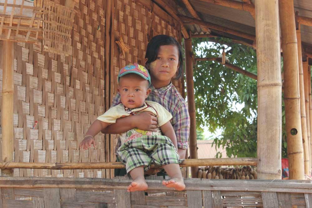Kinderen Myanmar 2