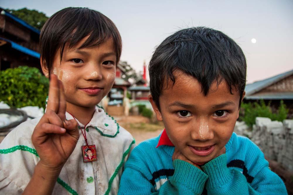 Kinderen Myanmar 7