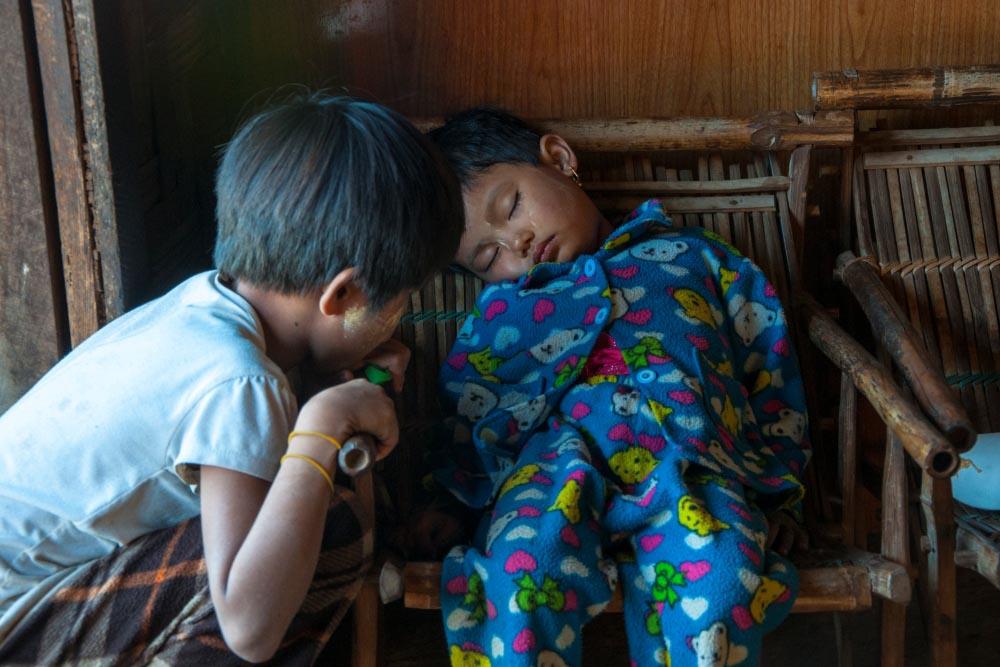 Kinderen Myanmar 9
