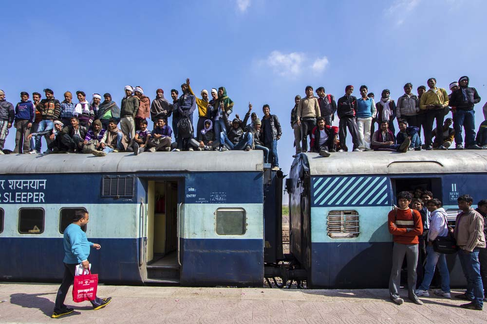 Reizen met Trein India