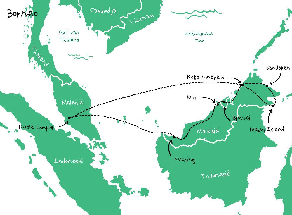 Route Borneo
