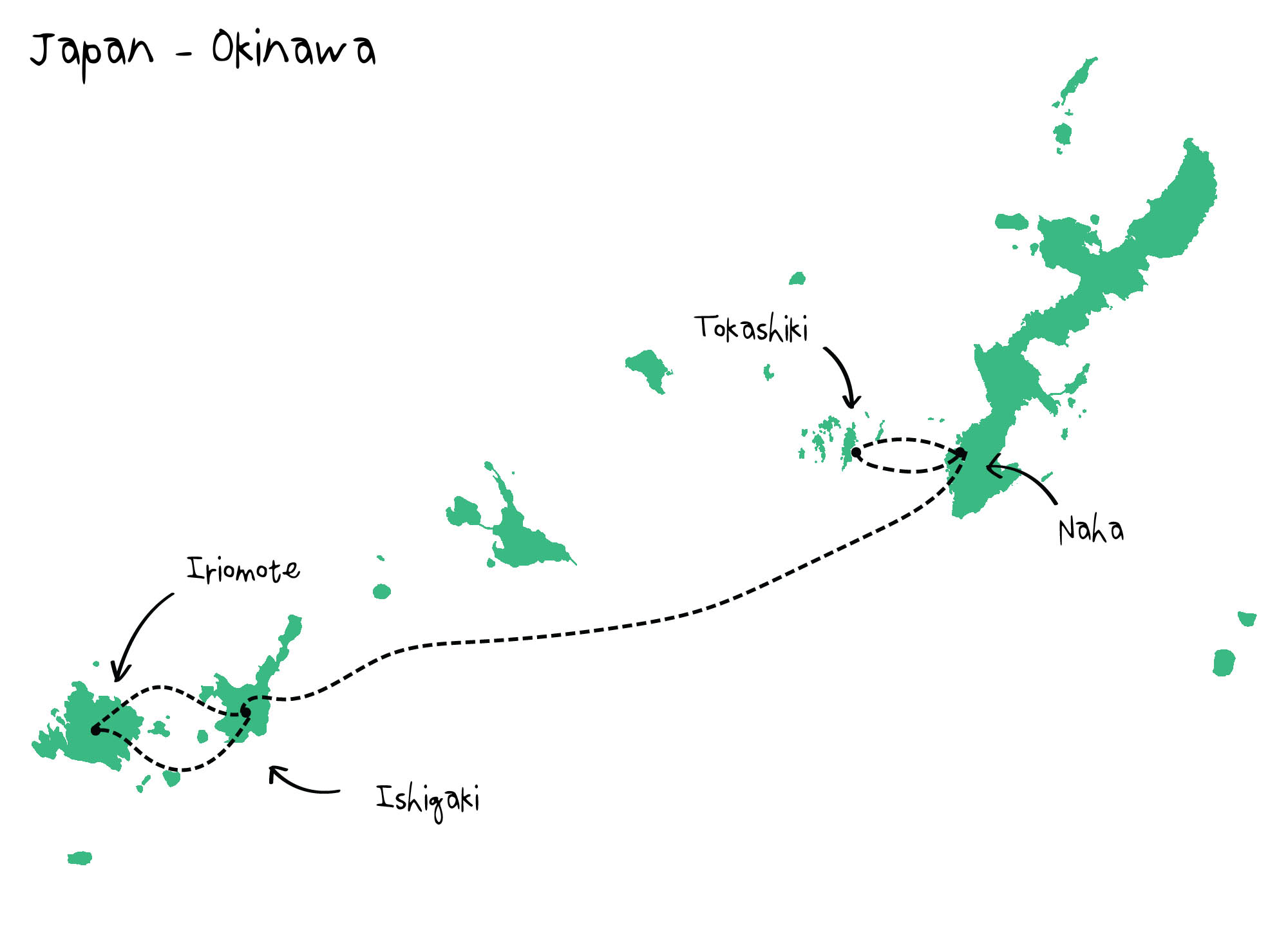 Route Okinawa