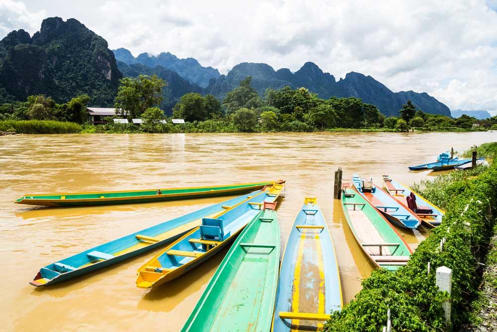 Vervoer Laos