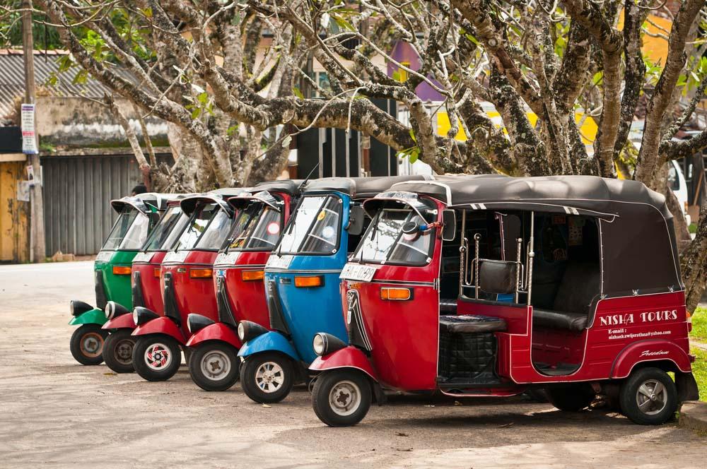 Vervoer Sri Lanka