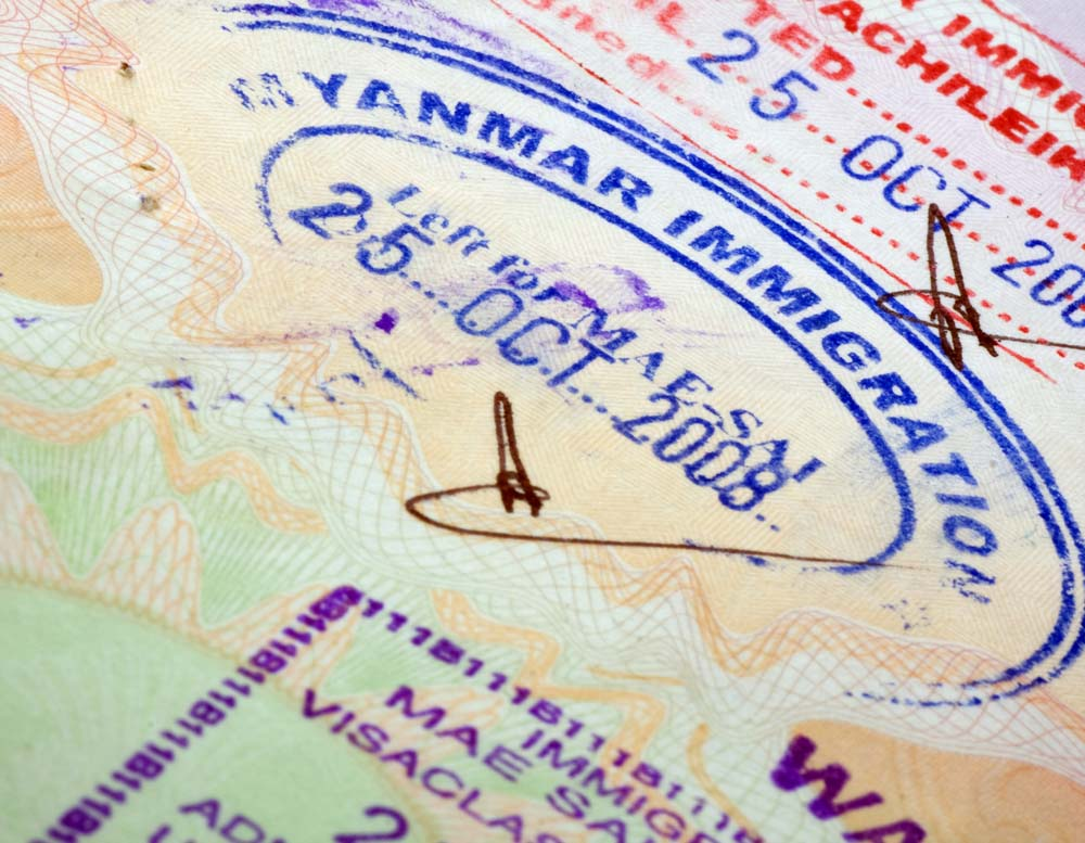 Visum Myanmar