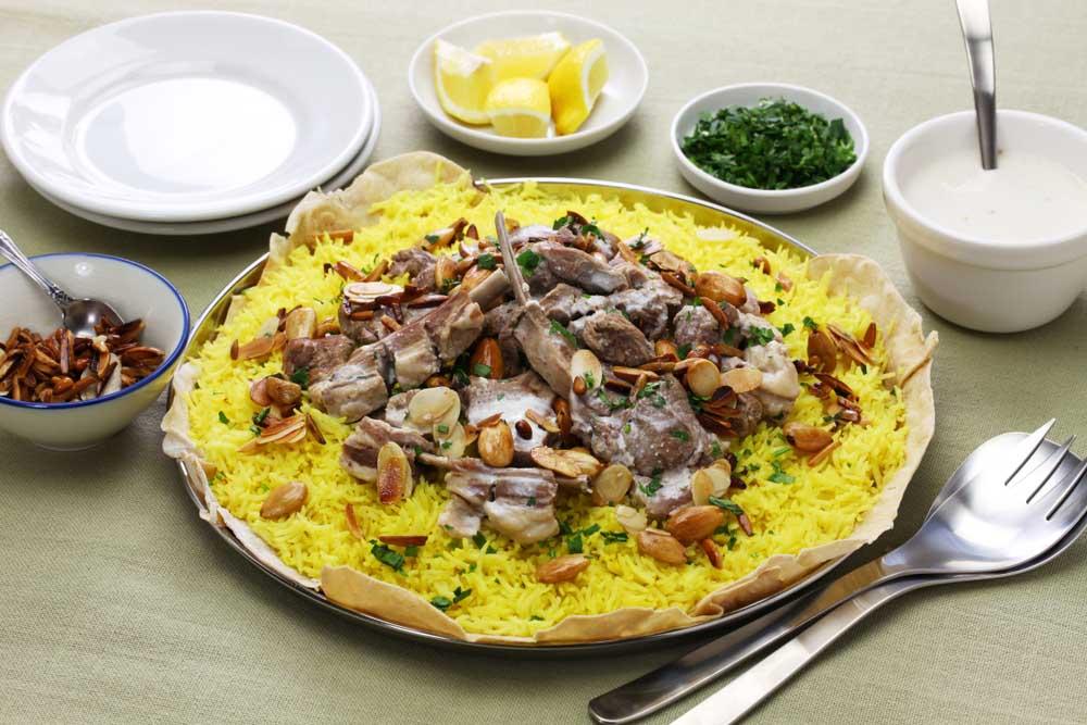 eten jordanië