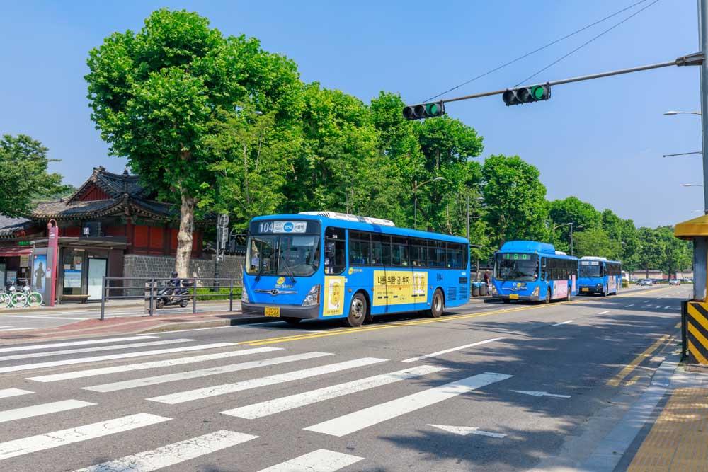 Vervoer Zuid-Korea