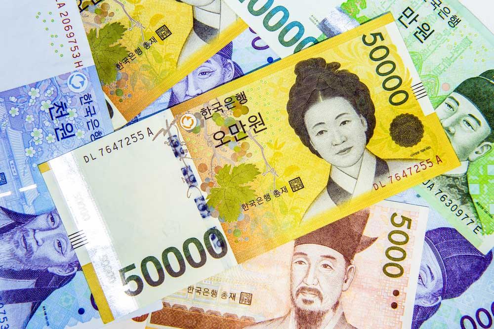 Geld Zuid-Korea