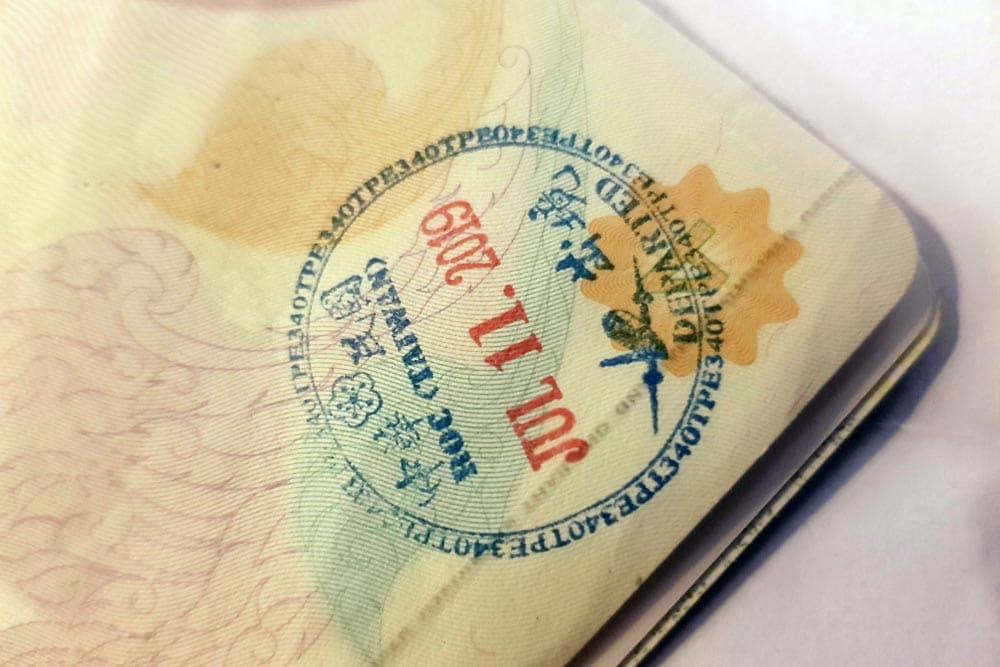 Visum Taiwan