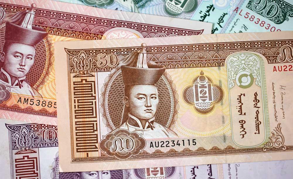 Geld Mongolië